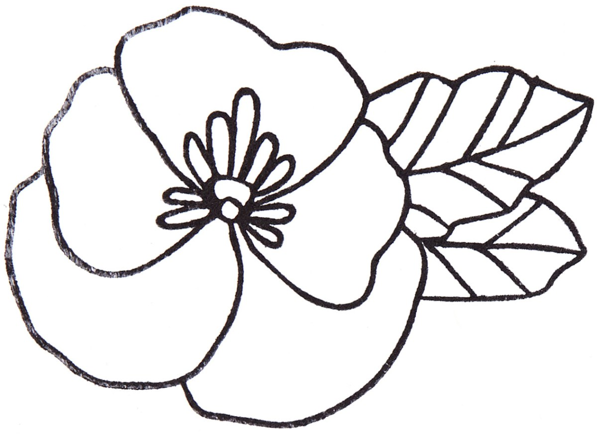 Marker Shading Technique Step 1 #ctmh #closetomyheart #diy #markers #markershading #markertechnique #flower #floral