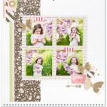 Through the Year #ctmh #closetomyheart #throughtheyear #calendar #kit #scrapbooking #scrapbook #memorykeeping #keepsake #gift #diy #family #Chrismas #present #photos #gold #glitter #diecut #gems #butterfly #butterflies #spring