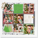 Through the Year #ctmh #closetomyheart #throughtheyear #calendar #kit #scrapbooking #scrapbook #memorykeeping #keepsake #gift #diy #family #Chrismas #present #photos #gold #glitter #diecut #gems #stars #remember #Christmas #holiday #season #tree