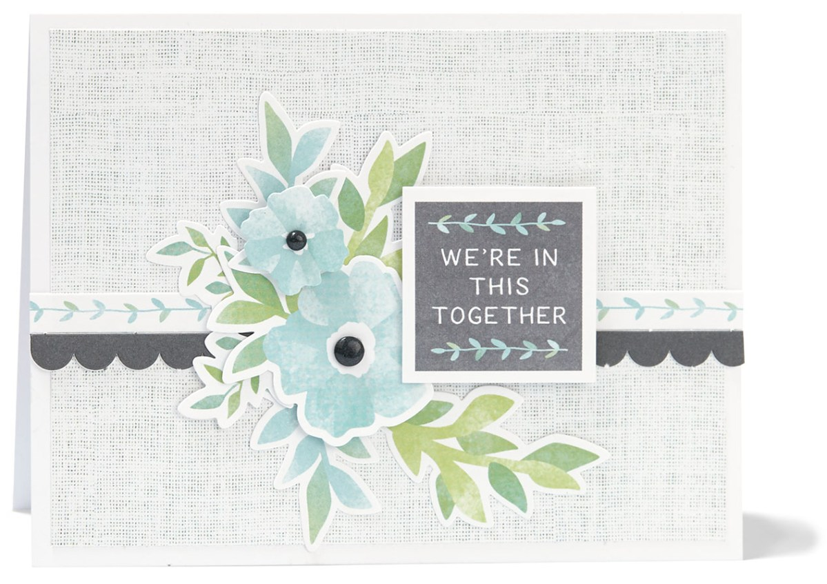 Complement Day #ctmh #closetomyheart #diy #card #cardmaking #complements #compliments #stickers #embellishment #embellish #accent #accessory #accessories #flowers #floral #inthistogether #together #Chelsea #gardens #feminine