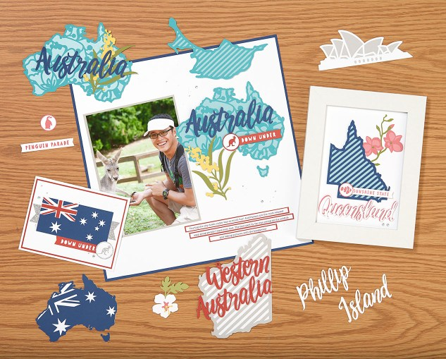Australia Day Giveaway #ctmh #closetomyheart #cricut #australia #day #aussie #expressions #greetings #flag #country #queensland