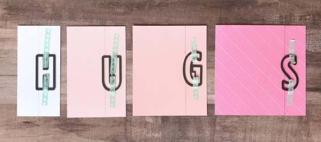 Block Alphabet Thin Cuts Technique #ctmh #closetomyheart #block #alpha #alphabet #abc #thincuts #thin #cuts #die #diecuts #letters #card #diy #sentiment #hug #gimmesomesugar #give #me #some #sugar #pink #pastel #floral #girly #girl #sparkles #cricut #cuttlebug #fussycutting #technique #bashful #whimsy #fundamental #cardstock #washi #tape