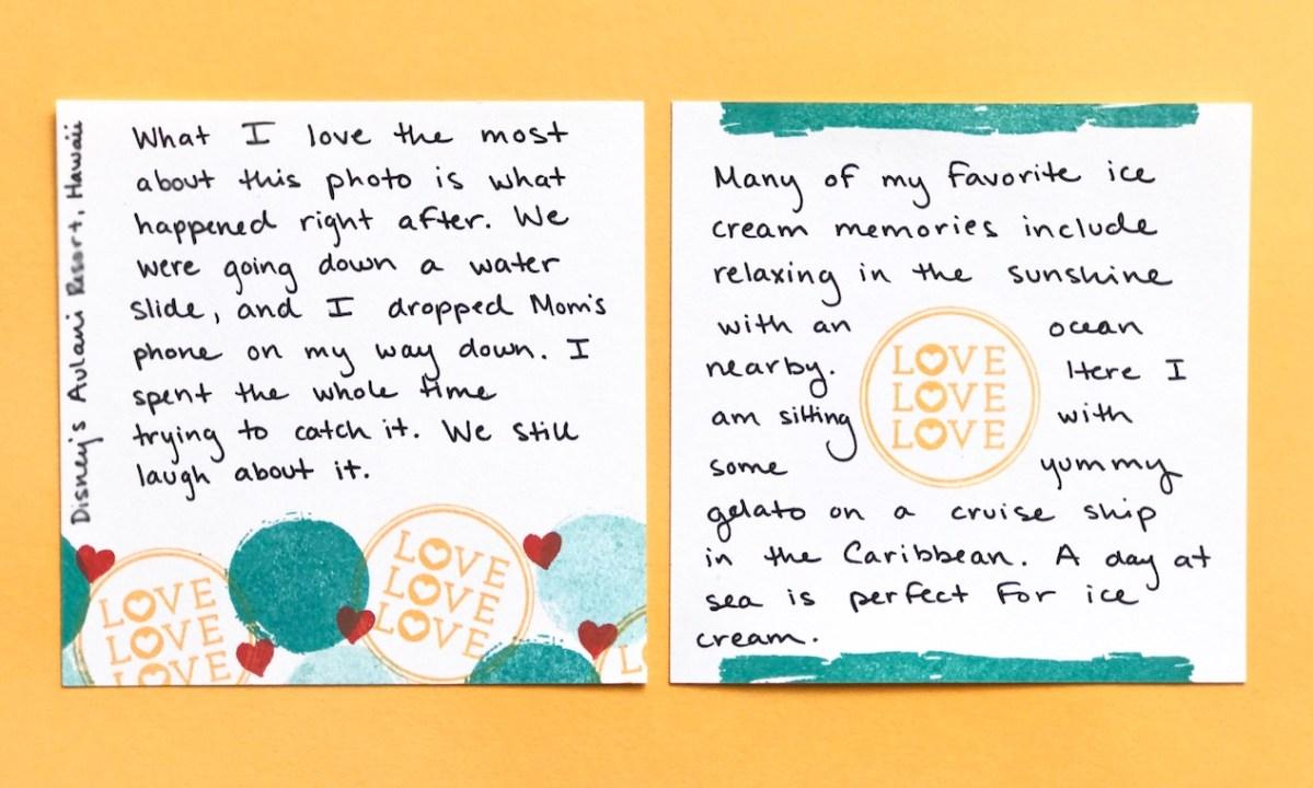 Stamping Story Starter #ctmh #closetomyheart #ctmhstacyjulian #ctmhxstacyjulian #ctmhstorystarter #stamping #quoteablewords #ctmhquoteablewords #colorfultextures #ctmhcolorfultextures #MyAcrylix #stamping #stampset #journaling #journalling #stacyjulian #minialbum #album #stories #love #icecream