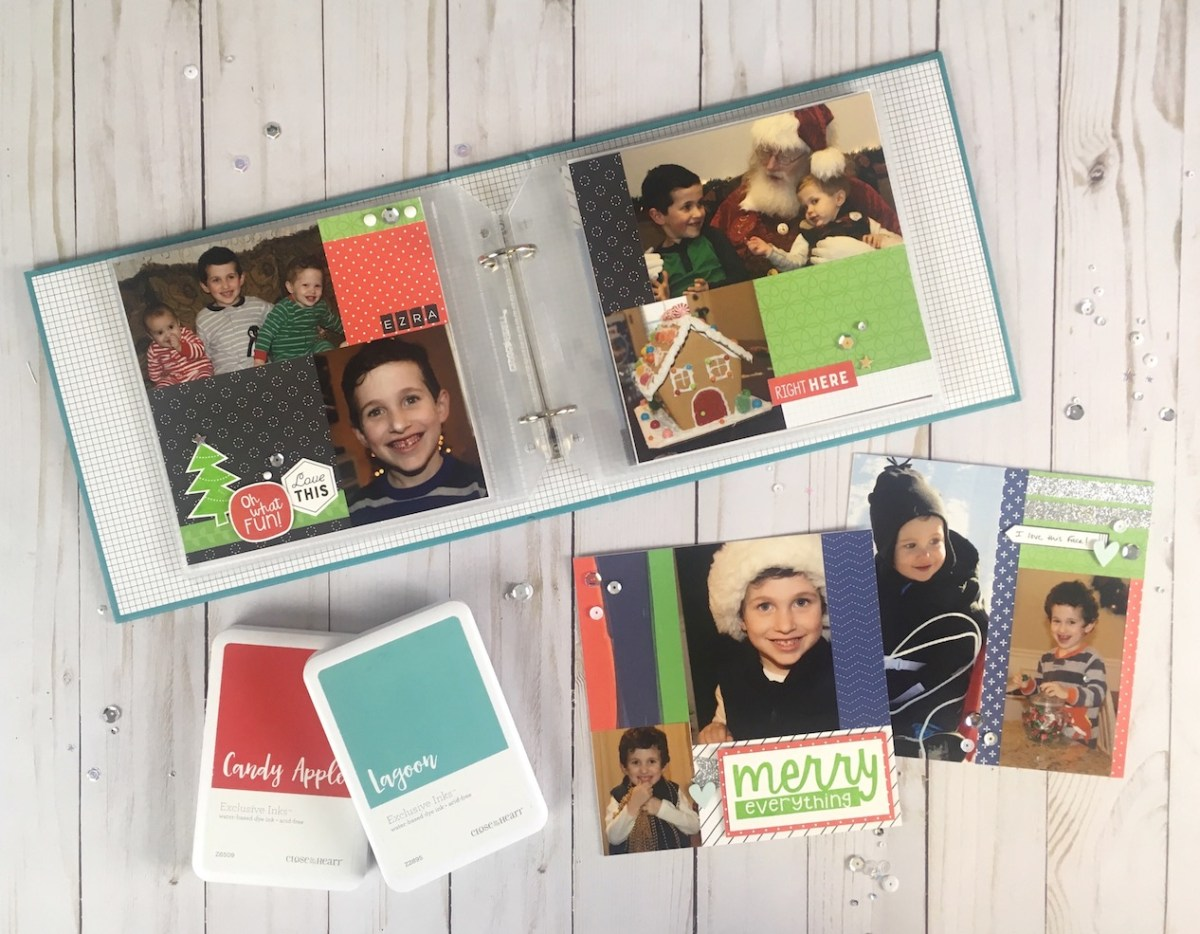 New Ways to Document the Holidays #ctmh #closetomyheart #ctmhxstorybystacy #storybystacy #Christmasalbum #Christmasornaments #holidayhighlights #holidays #Christmascountdown #scrapbooking #papercrafting #storytelling