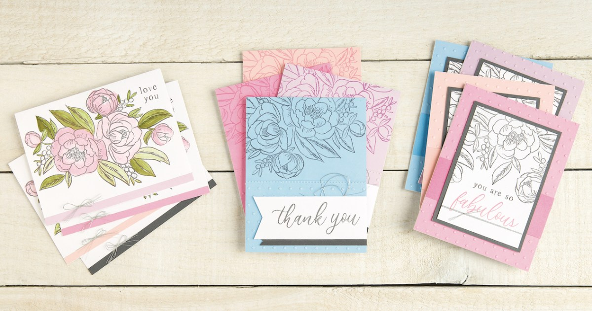 New Cardmaking Workshop with Embossing Technique #ctmh #closetomyheart #ctmhloveblossoms #cardmaking #cardmakingworkshop #diycards #handmadecards #embossingfolder #embossingtechnique