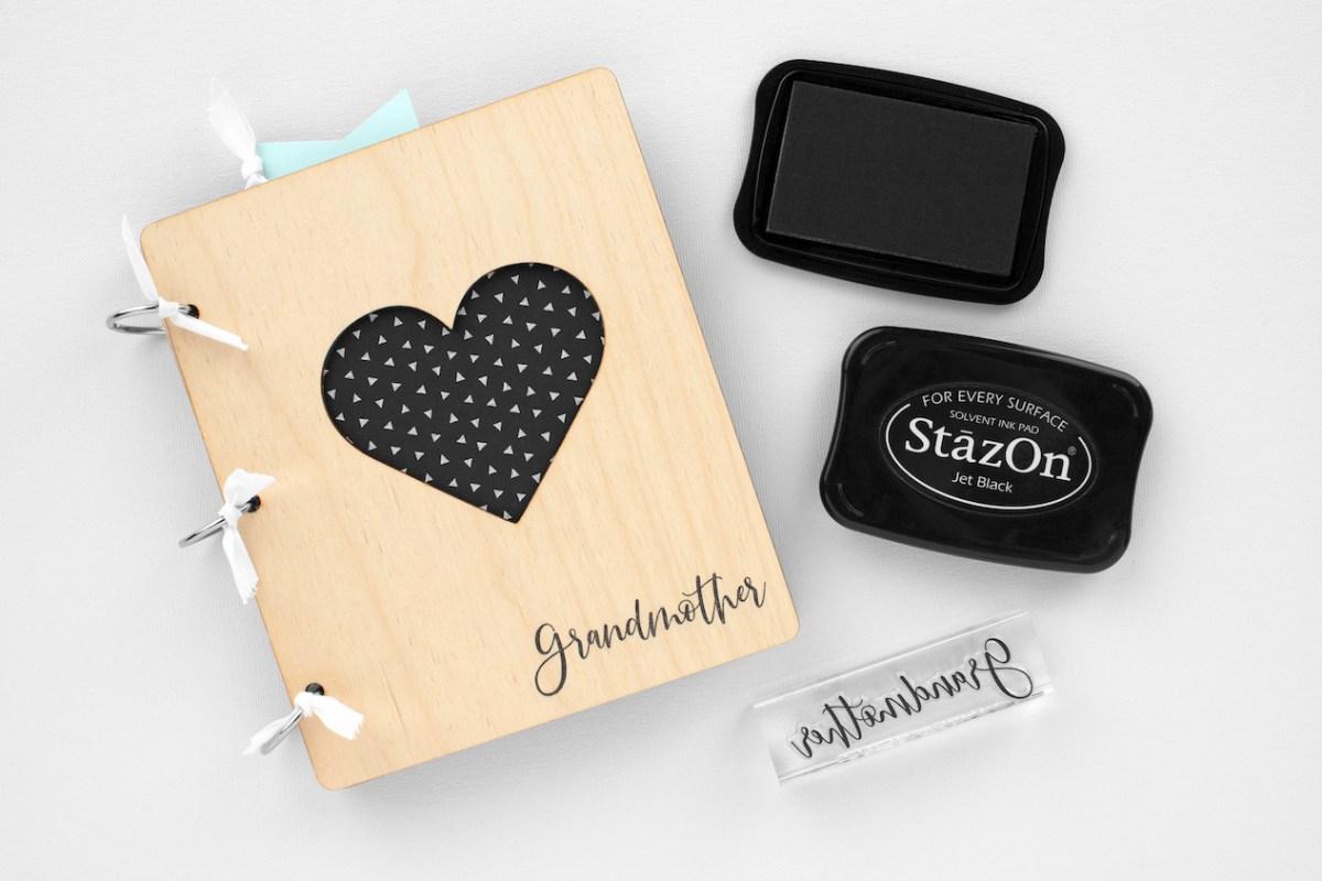 Stamping with StazOn™ Ink #ctmh #closetomyheart #stazon #stamping #inkpad #shakerwindow #cardmaking #birthdaycard #madewithlove #ctmhmadewithlove