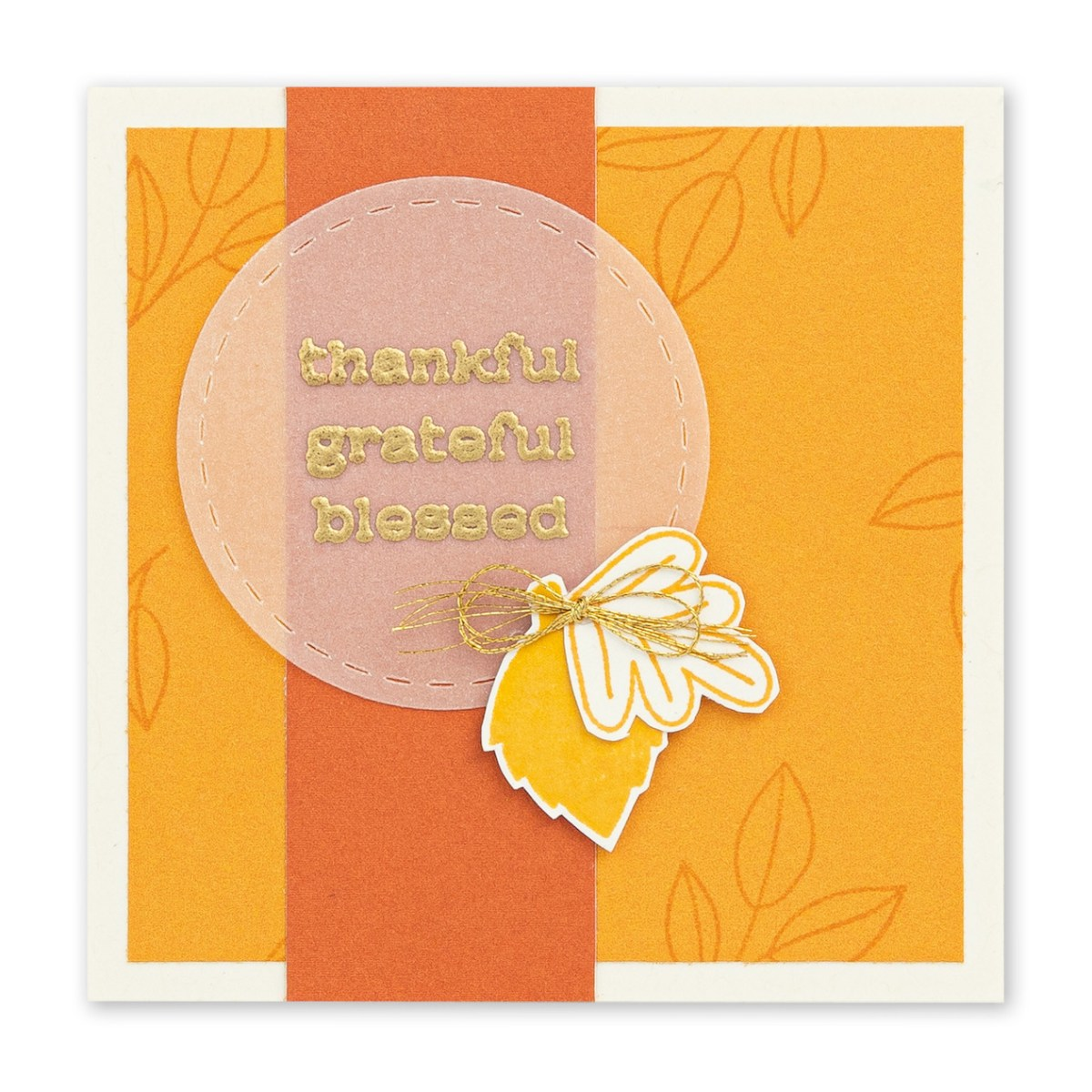 Basic Stamping Techniques #ctmh #closetomyheart #ctmhnsm #nationalstampingmonth #stampingtechniques #cardmaking #embossing #vellum #fall #autumn #thankful #grateful #blessed