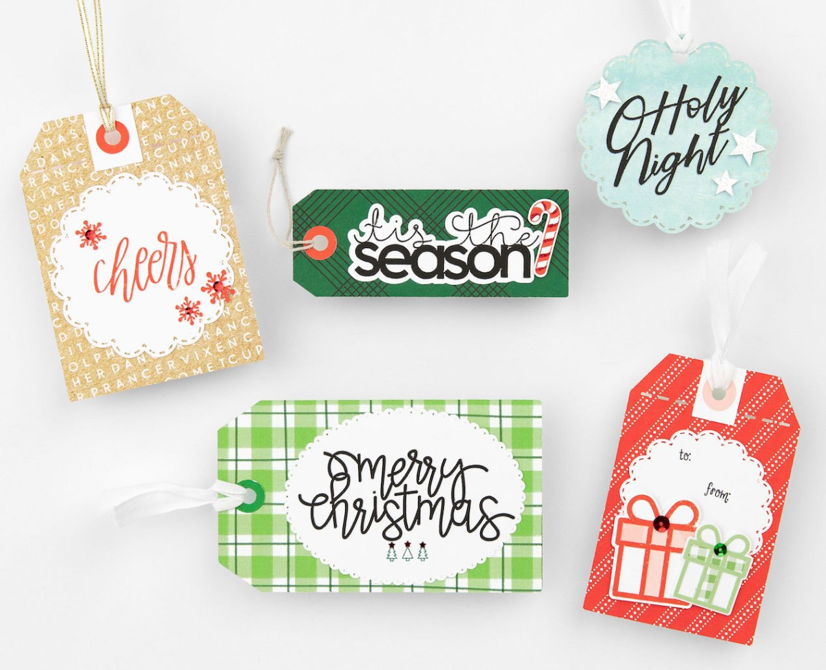 Complete Creativity Gift Tags #ctmh #closetomyheart #completecreativity #cricut #designspace #free #gift #tags #presents #Christmas #holiday