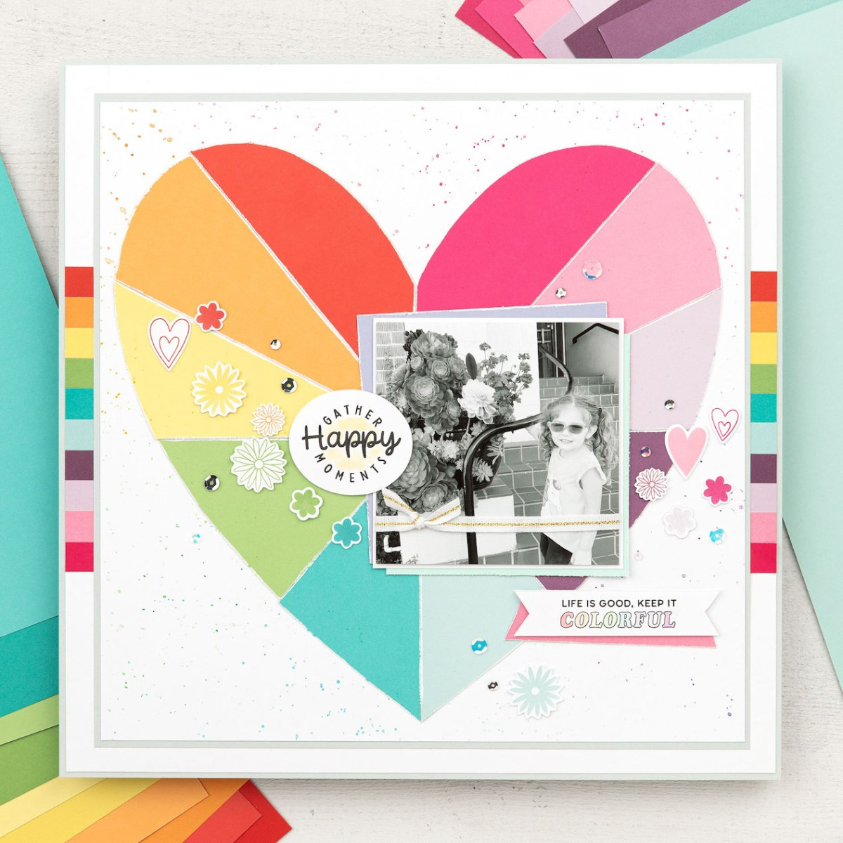Cardstock Carnival #ctmh #closetomyheart #cardstock #exclusivecolorpalette #exclusivecolourpalatte #ctmhcolors #cmthcolours #heart #scrapbook #lifeisfullofcolor #lifeisfullofcolour