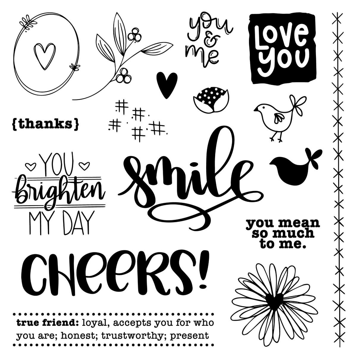 Stamping Techniques #ctmh #closetomyheart #nationalstampingmonth #nsm #stampingtechniques #youbrightenmyday