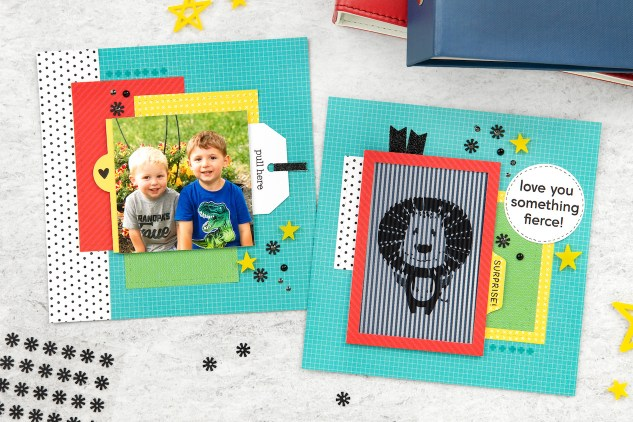 Animated Stamps #ctmh #closetomyheart #ctmhcreativityinmotion #scrapbooking #memorykeeping #animatedsafari