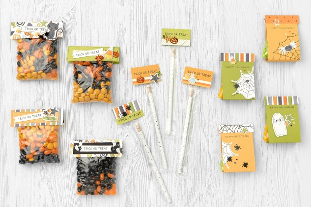 Got Candy #closetomyheart #ctmh #ctmhgotcandy #gotcandy #halloween #trickortreat #workshop #scrapbooking #treatbags #treattoppers #memorykeeping #spooky