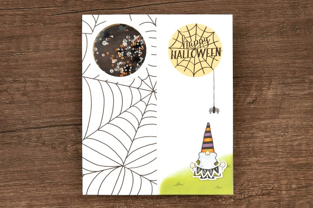 Shaker Window Cards & Scrapbook Pages #ctmh #closetomyheart #shakerwindows #cardmaking #scrapbooking #Halloween