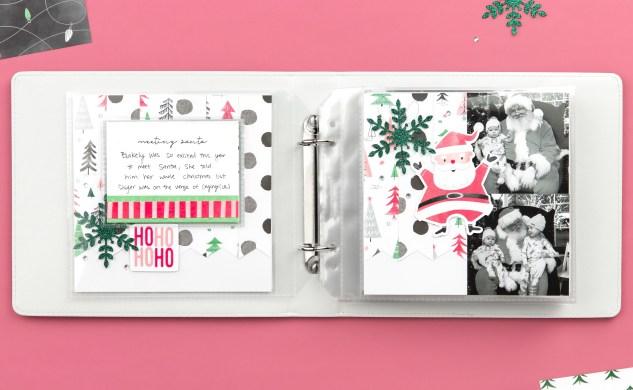 Christmas Mini Album #ctmh #closetomyheart #jinglealltheway #christmas #minialbum #photoalbum #memorykeeping