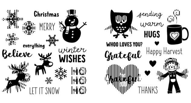 Free Card Pattern #ctmh #closetomyheart #freepattern #cardmaking #diy #ctmhseasonsinmotion #animatedcards #interactivecards #autumnair #holidaycheer #owl #reindeer
