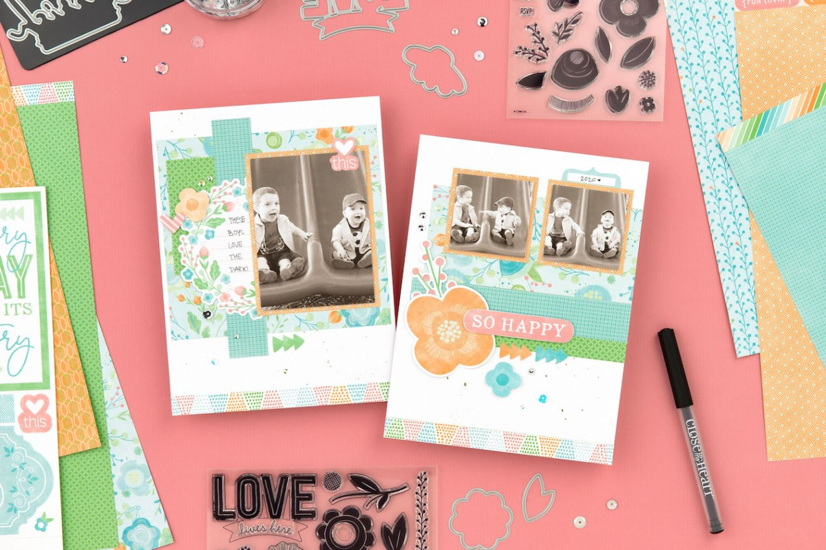 Blossom Papercrafting Collection #ctmh #closetomyheart #scrapbooking #cardmaking #papercrafting #BBMPBlossom #blossom #SoHappyTogether #freedownload #freepattern