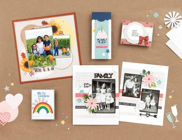 Scrapbook /& Card Making 2 Trick or Treat Bag Sets PAPER Die Cuts