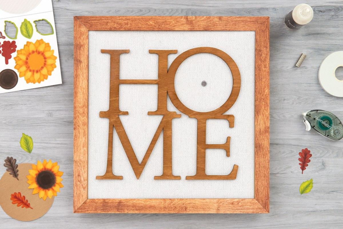 DIY Home Decor #ctmh #closetomyheart #ctmhhomesweethome #nationalpapercraftingmonth #papercrafting #diyhomedecor #framekit #homesweethome #giveaway