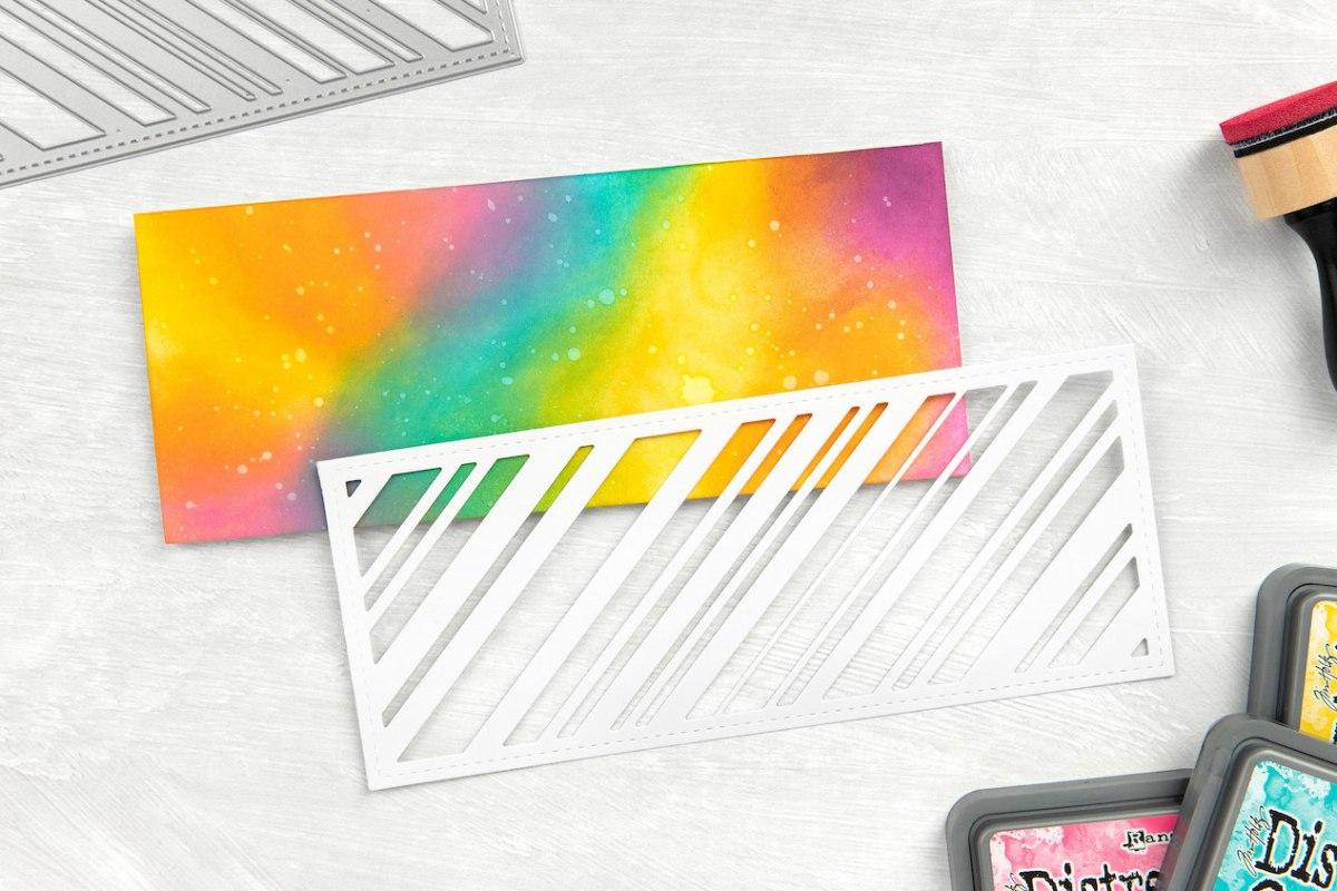 Slimline Cards #closetomyheart #ctmh #slimlinecards #distressoxideinks #thincuts #hugscard