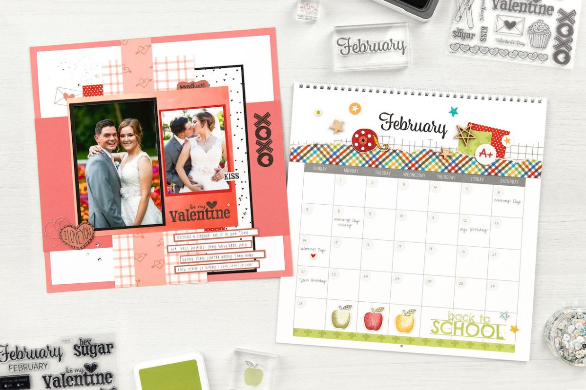 Months of the Year Stamp Sets #closetomyheart #ctmh #monthsoftheyear #calendar #perpetualcalendar #diy #scrapbooking #january #february #march #april #monthlystampsets