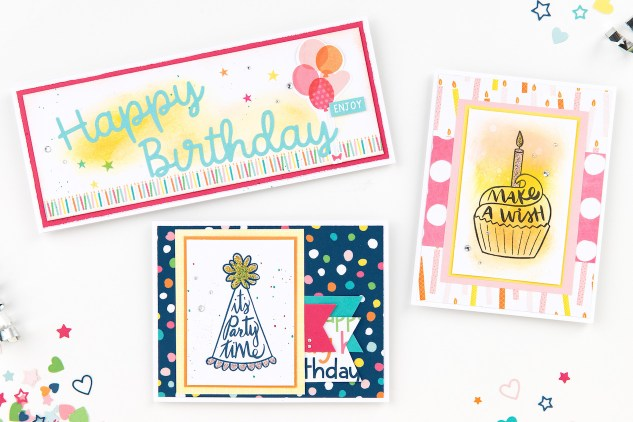 Party Time #closetomyheart #ctmh #ctmhpartytime #partytime #memorykeeping #celebratingrelationships #birthday #scrapbooking #cardmaking #giveaway
