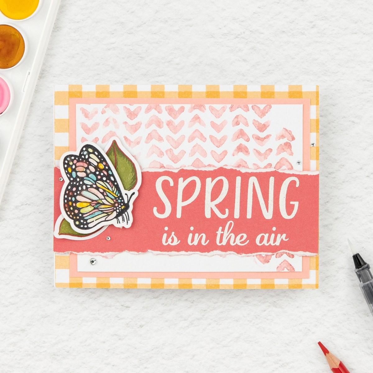 Watercolor Techniques #closetomyheart #ctmh #ctmhdaisymeadows #watercolor #watercolour #waterbrush #watercolorpencils #watercolourpencils #watercolortechniques #watercolourtechniques #scrapbooking #cardmaking #springisintheair