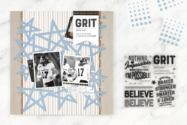 National Scrapbooking Day #closetomyheart #ctmh #nsd #ctmhnsd #nationalscrapbookingday #closetomyheartnsd #closetomyheartnationalscrapbookingday #morethanyoulleverknow #grit #football #scrapbooking