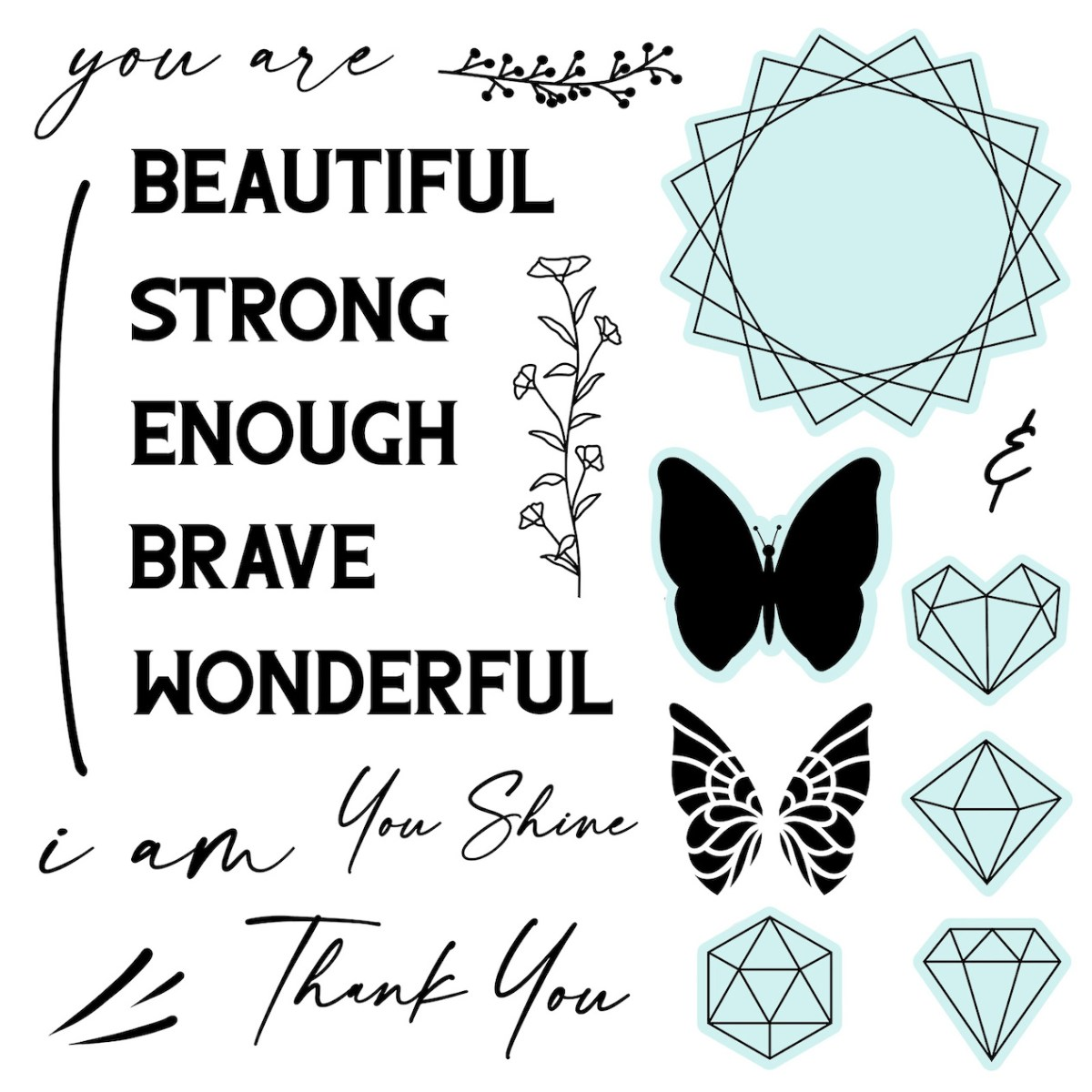 You Are Enough Paper Collection #closetomyheart #ctmh #ctmhyouareneough #ctmhnsm #ctmhnationalscrapbookingmonth #nsm #nationalscrapbookingmonth #scrapbooking #minialbum #cardmaking #papercrafting #stamping
