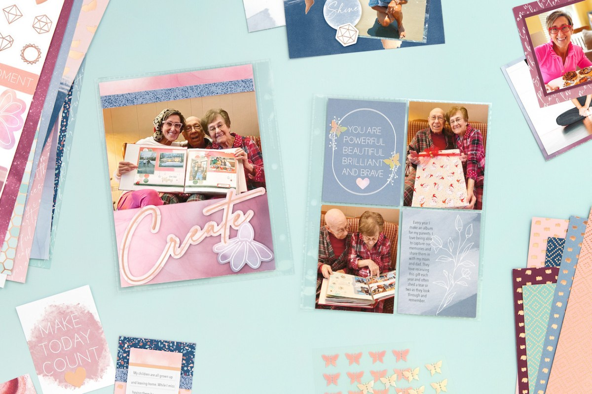 You Are Enough Paper Collection #closetomyheart #ctmh #ctmhyouareneough #ctmhnsm #ctmhnationalscrapbookingmonth #nsm #nationalscrapbookingmonth #scrapbooking #minialbum #cardmaking #papercrafting