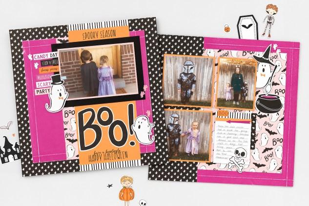 Papercrafting Treats for Halloween #closetomyheart #ctmh #ctmhboocrew #boocrew #halloweencrafts #diytreats #papercrafting #scrapbooking #memorykeeping #halloweentreat #treatcontainer #treatpod