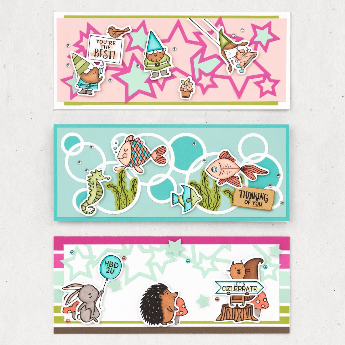 Slimline Cards #closetomyheart #ctmh #nationalstampingmonth #slimlinecelebration #slimlinecards #slimline #cardmaking #cardworkshop