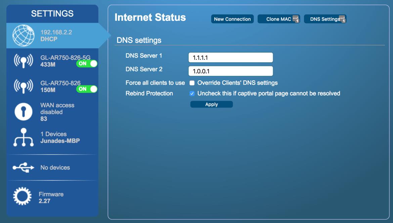 DNS Resolver configuration