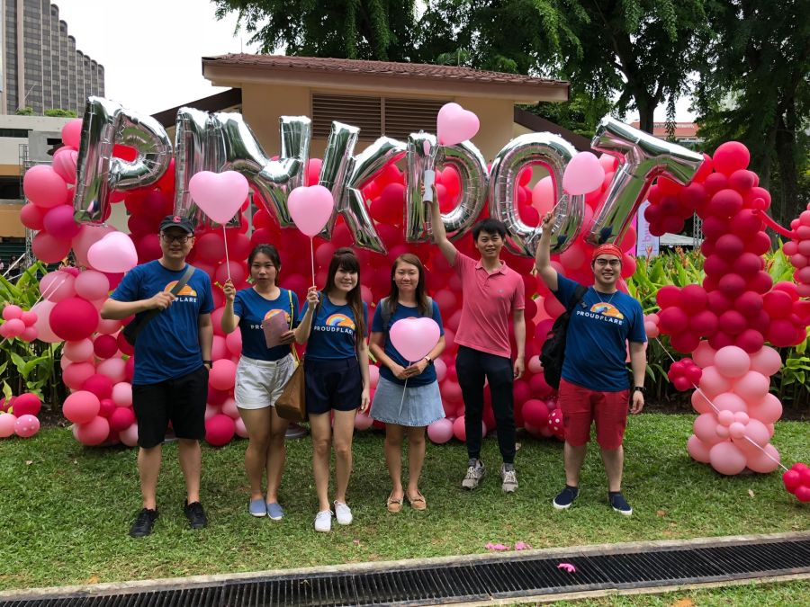 Happy Pink Dot SG from the Proudflare team!