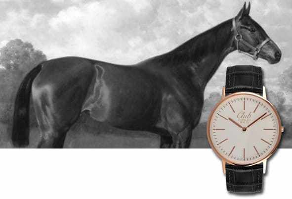 Thoroughbred Clock