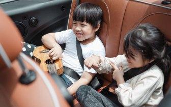 Como entreter as crianças na viagem?