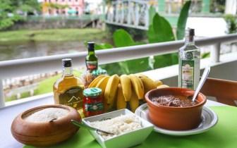 Pratos típicos da culinária local da região Sul do Brasil