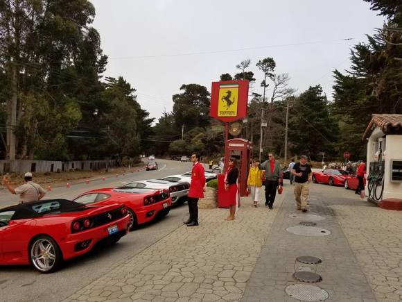 Casa Ferrari on Highway 1