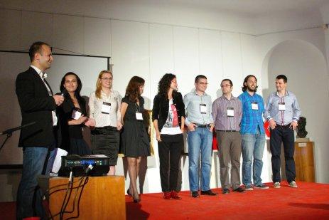Echipa TEDx Cluj, Mai 2011