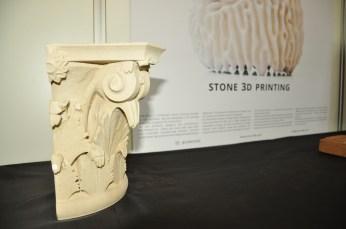 Printare 3D de piatră, utilizând materii prime reciclate