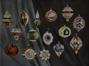 german glass christmas ornaments
