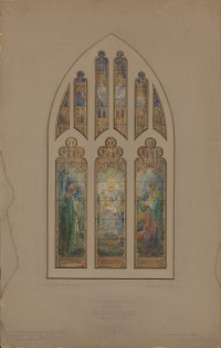 Recent Acquisition: Tiffany Studios stained glass design ...