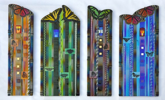 Butterfly Panels by Mark Ditzler.