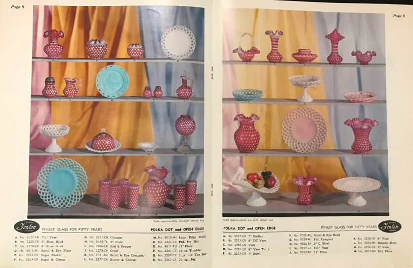 The first all-color printed trade catalog, January 1955.