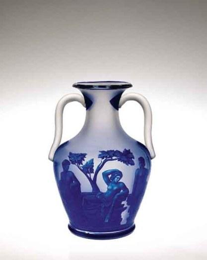 Copy of the Portland Vase, Franz Paul Zach, 1862