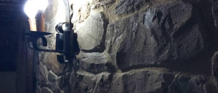 z-detalle perfil muro piedra bodega