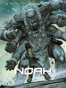 "Cover of the original graphic novel ""Noah."""