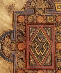 Close-up of the Book of Kells