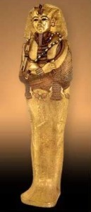 King Tut's Gold Coffin