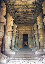 Interior of Ramesses's temple at AbuSimbel
