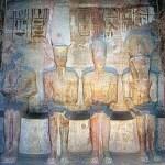 Four gods: Ptah, Amun, Ra-Harakhte and Ramesses